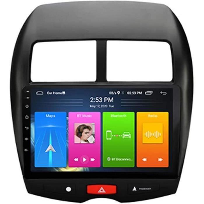 Autoradio Android pour MITSUBISHI ASX 2013-2018 Autoradio GPS Navigation Écran tactile Lecteur multimédia de voiture Unité prin 669