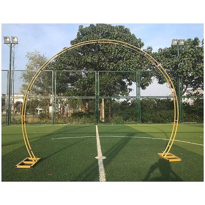 Arceau Rosiers Arche de Jardin Arche de Mariage Dcoration de cadre darc de cercle en mtal darcade ronde Les plantes durable[3212]