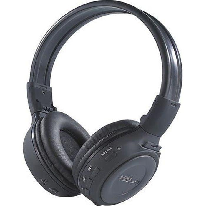 Casque Hi-Fi ''MPH-232.SD'' avec lecteur MP3 intégré