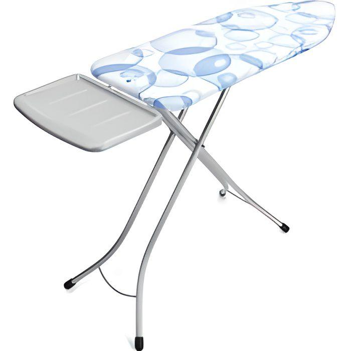 BRABANTIA Table à repasser Bubble, Perfect flow - 124 x 45 cm