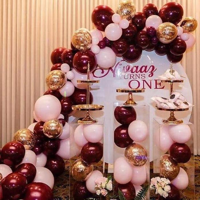 Arche Ballon Décoration Guirlande Ballons Fete Ballons Anniversaire Deco Mariage