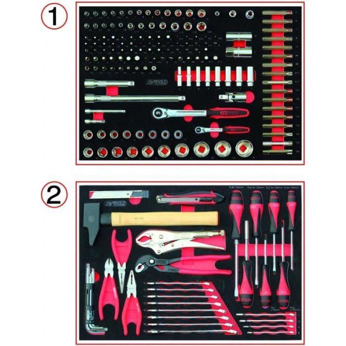 KS TOOLS 714.0184 Composition d'outils pour servante 184 pièces