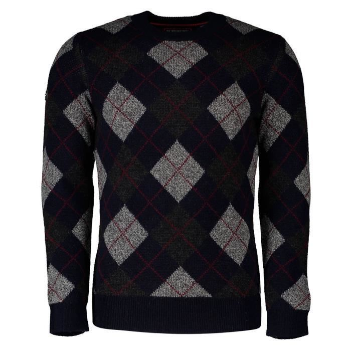 Vêtements Homme Chandails Superdry Academy Argyle Crew