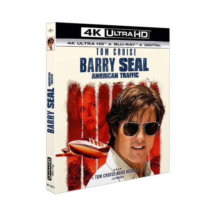 Barry Seal : American Traffic [Combo Blu-Ray, Blu-Ray 4K]