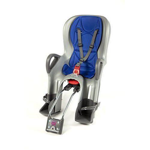 Ok Baby Siège 10+ roue arrière de vélo enfant, Enfant, 10+, silber-Blau - O37226029X