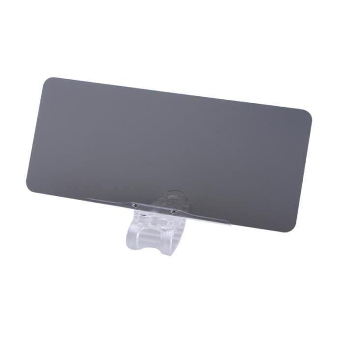 Extension de pare-brise teinté antireflet pour voiture - de pare-soleil anti-reflets PARE-SOLEIL - BANDE SOLAIRE - FILM SOLAIRE