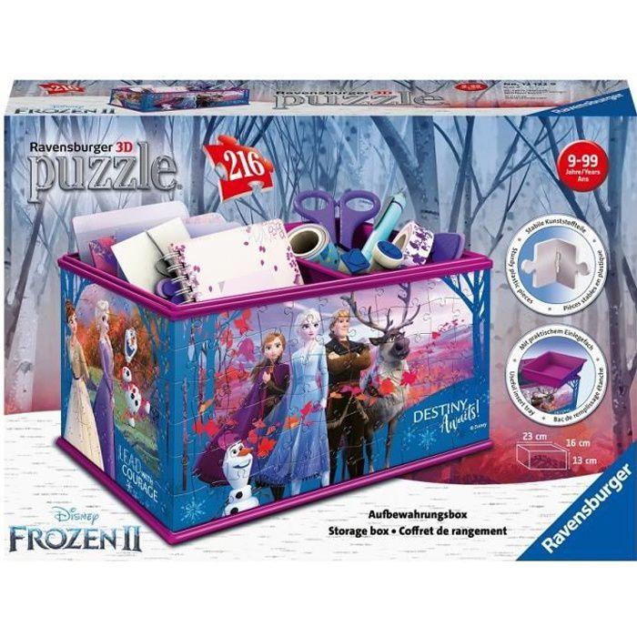 Puzzle 3D Boite de rangement - Disney La Reine des Neiges 2