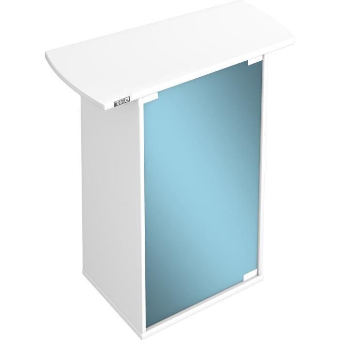 TETRA Meuble AquaArt 60l blanc pour aquarium