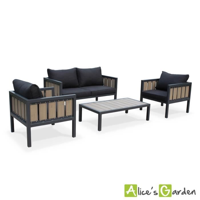 salon jardin 2 places maison design. Black Bedroom Furniture Sets. Home Design Ideas