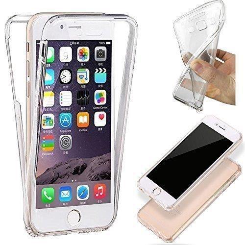 coque integrale iphone 5c transparente silicone ge