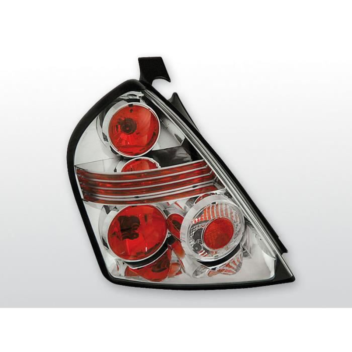 Feux arrières pour FIAT stilo 10.01-07 3t Noir