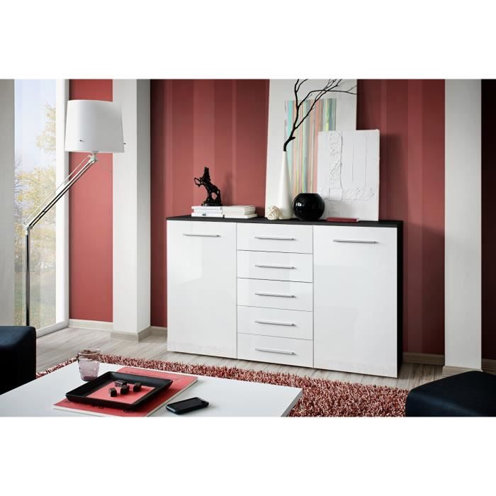 cdiscount buffet de salon maison design. Black Bedroom Furniture Sets. Home Design Ideas