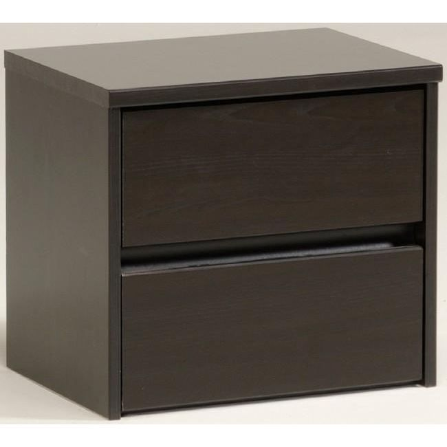 Table chevet new haven weng achat vente chevet - Table de chevet wenge ...