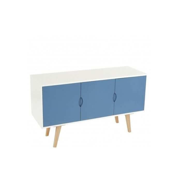 commode style scandinave blanche et bleue 6. Black Bedroom Furniture Sets. Home Design Ideas