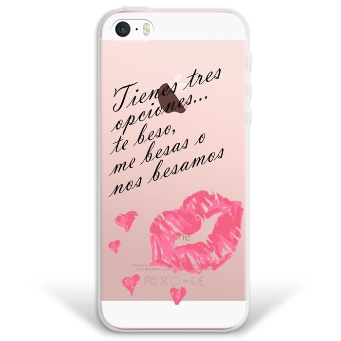 coque iphone 5s avec phrase achat vente coque iphone. Black Bedroom Furniture Sets. Home Design Ideas