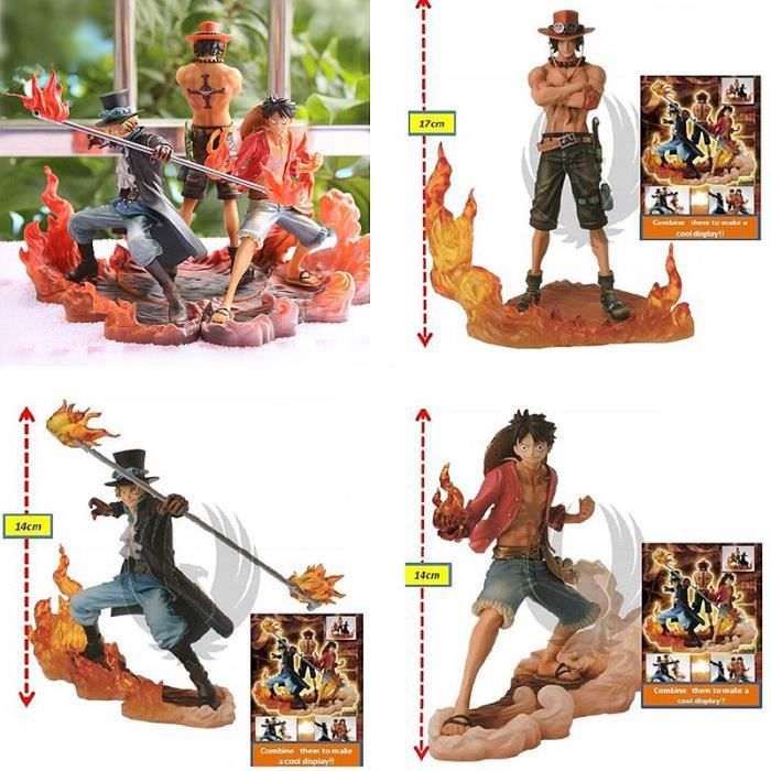 Action Figurines One Piece Monkey D Luffy Ace Sabo Collection 3