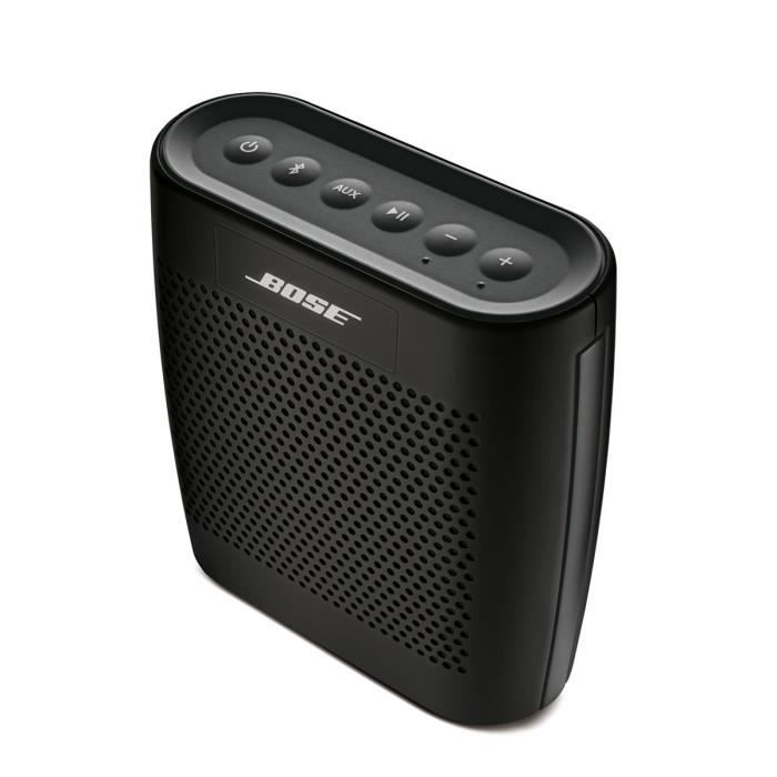 enceinte bluetooth bose soundlink colour noir. Black Bedroom Furniture Sets. Home Design Ideas
