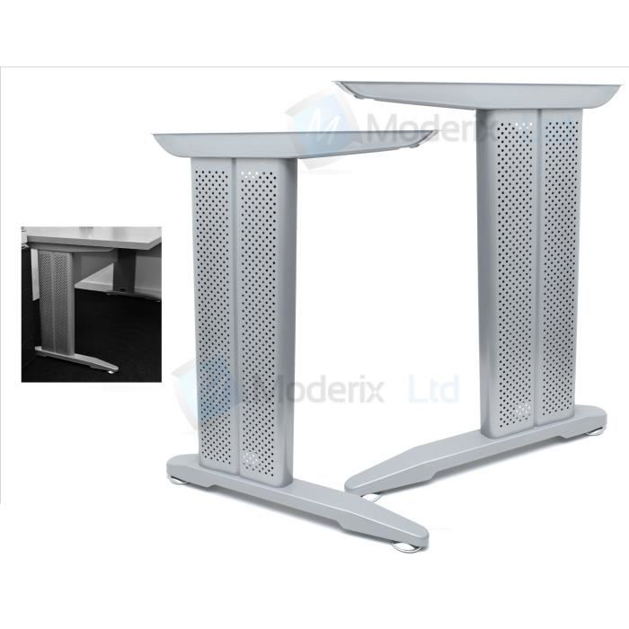 bureau armature en m tal pied de table achat vente pied de table armature en m tal cdiscount. Black Bedroom Furniture Sets. Home Design Ideas