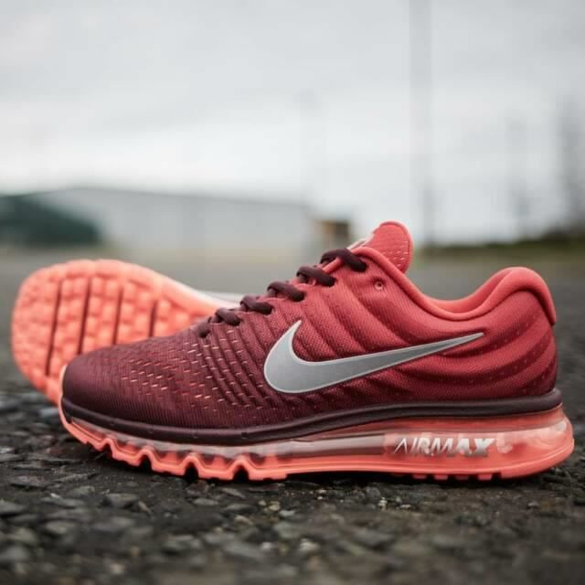 NIKE Airmax 2017 Homme Basket Running Chaussures Rouge