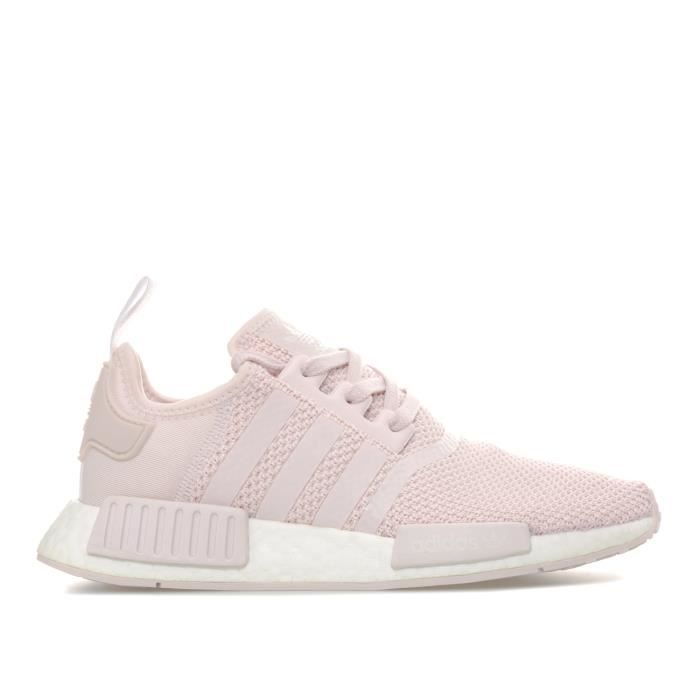 Adidas Originals Baskets NMD_R1 Rose Femme Rose - Achat ...