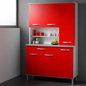 paris prix buffet de cuisine smarty 120cm rouge achat vente buffet bahut paris prix. Black Bedroom Furniture Sets. Home Design Ideas