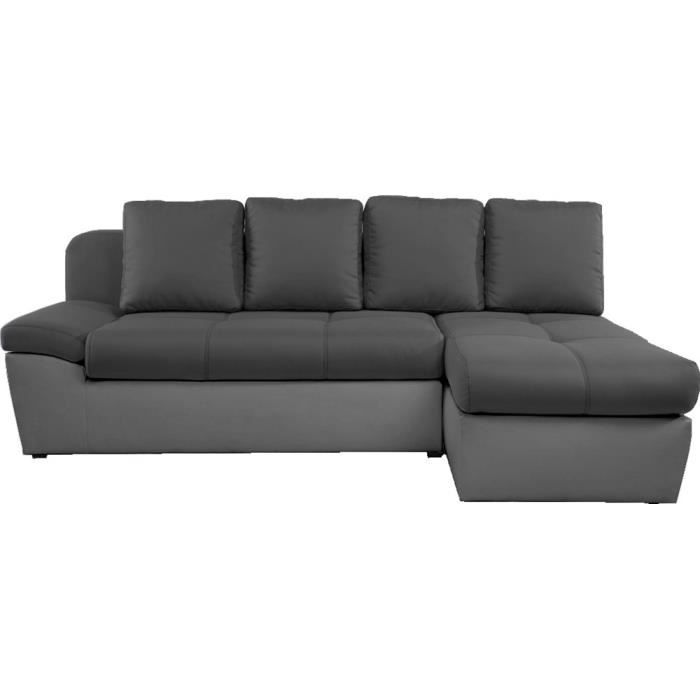 canap d 39 angle droit convertible switsofa duett achat vente canap sofa divan tissu. Black Bedroom Furniture Sets. Home Design Ideas