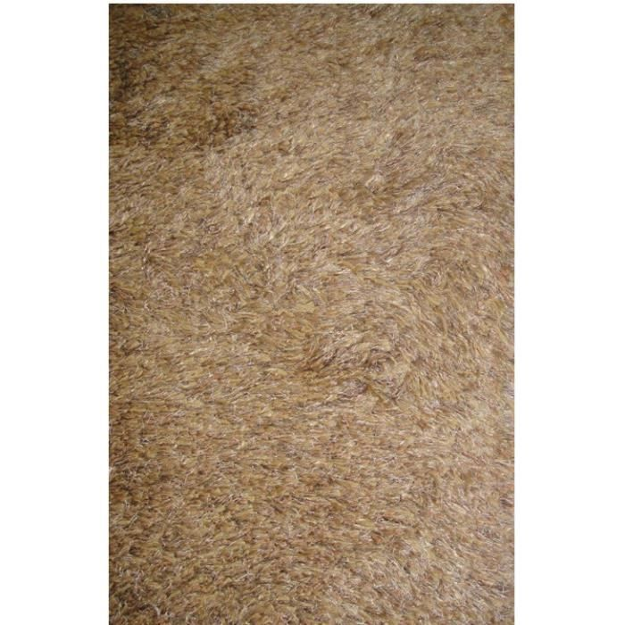 tapis shaggy a poils long torino noisette 170x240 par. Black Bedroom Furniture Sets. Home Design Ideas