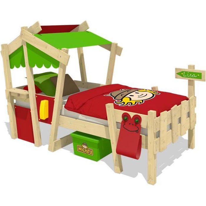TÊTE DE LIT WICKEY Crazy Candy Lit pour enfant en  bois 90x200