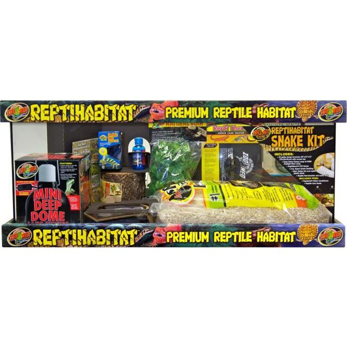 kit reptihab serpent nts21 achat vente vivarium terrarium kit reptihab serpent nts21. Black Bedroom Furniture Sets. Home Design Ideas