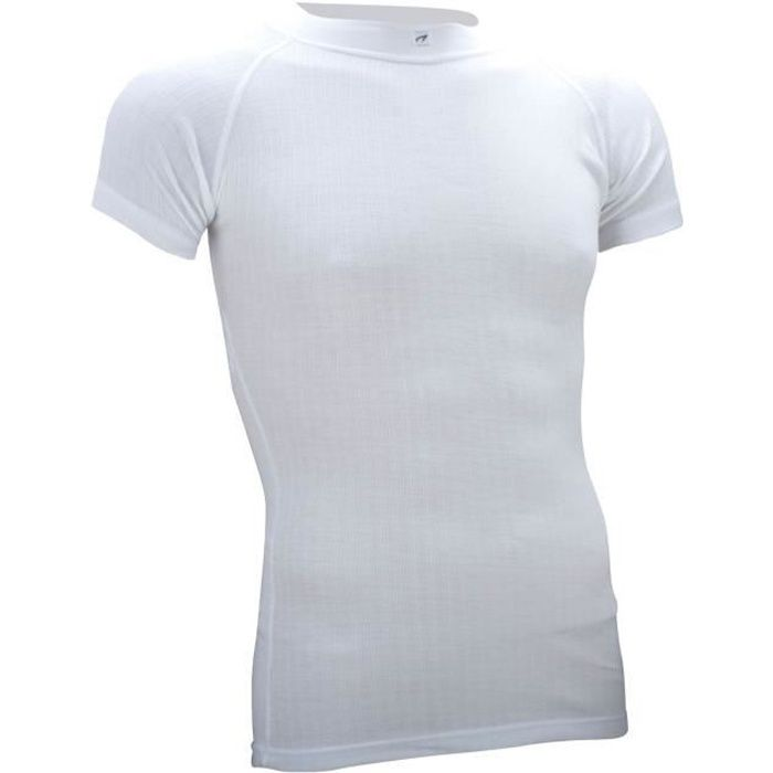 AVENTO Sous-vêtement thermique Manches Courtes - Homme - Blanc