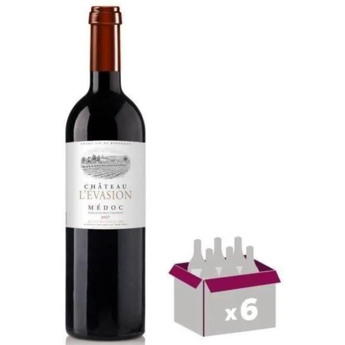 Château de l'Evasion 2017 Médoc - Vin rouge de Bordeaux