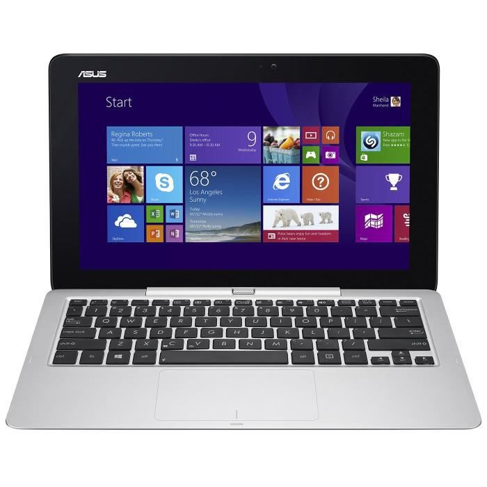 Asus pc portable reconditionné t200ta cp022h écran tactile 116 2go ram windows 8.1 intel atom hd graphics stockage 1to