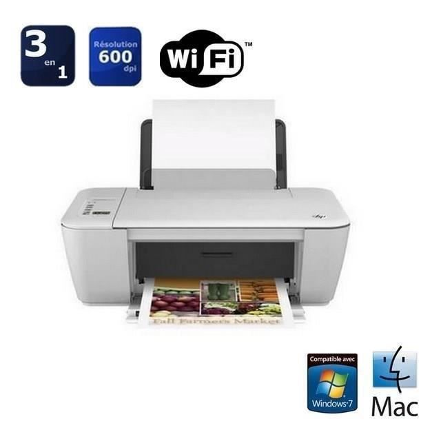 hp deskjet 2540 imprimante 3 en 1 wifi prix pas cher cdiscount. Black Bedroom Furniture Sets. Home Design Ideas