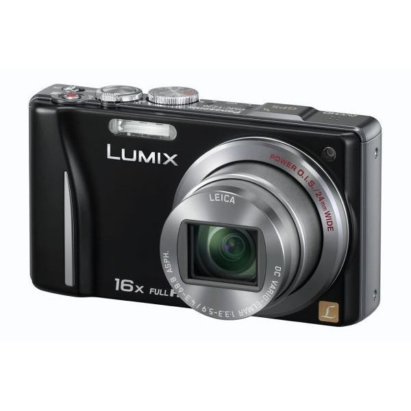 appareil photo panasonic lumix dmc tz20 noir achat vente appareil photo compact cdiscount. Black Bedroom Furniture Sets. Home Design Ideas