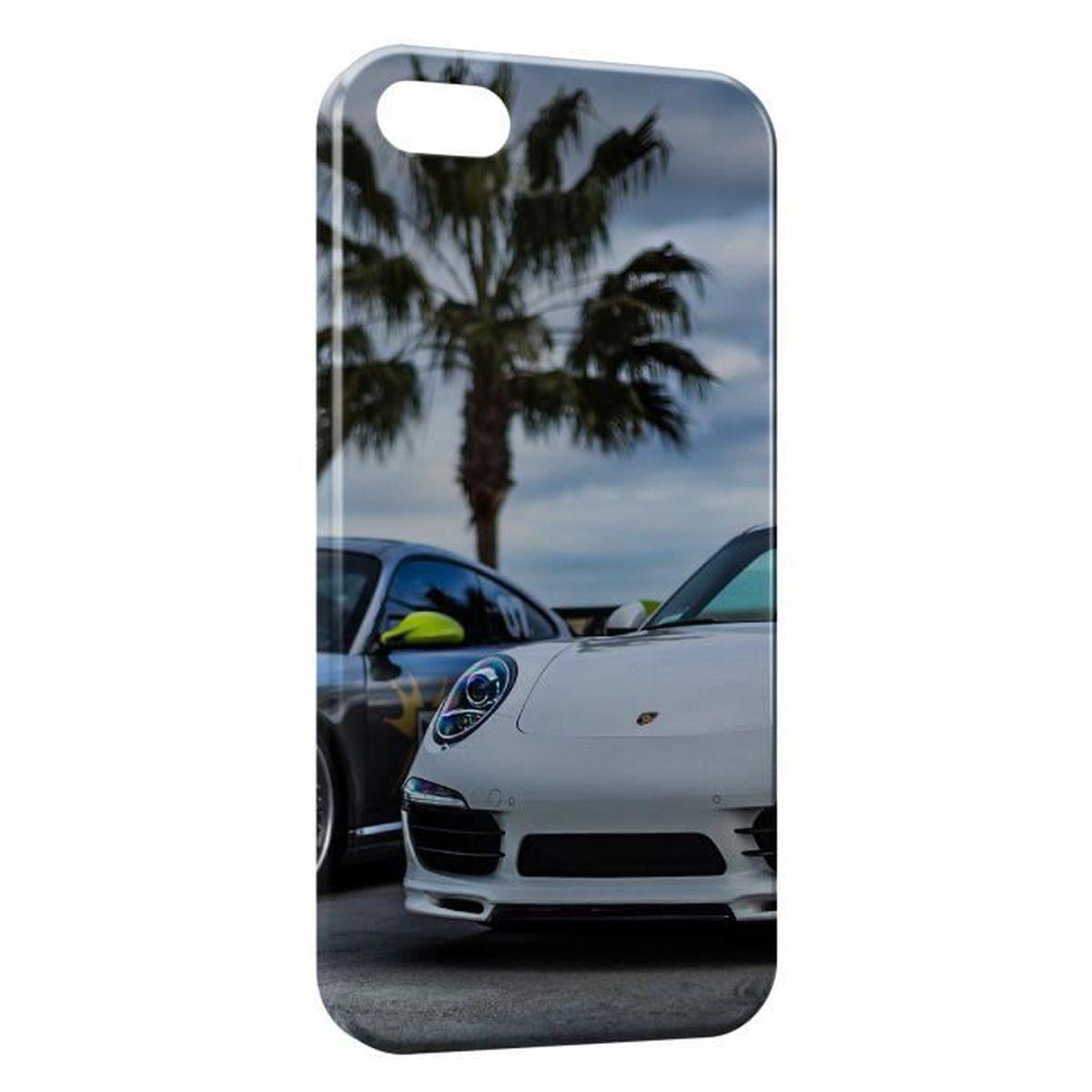 coque iphone 6s porsche et palmier