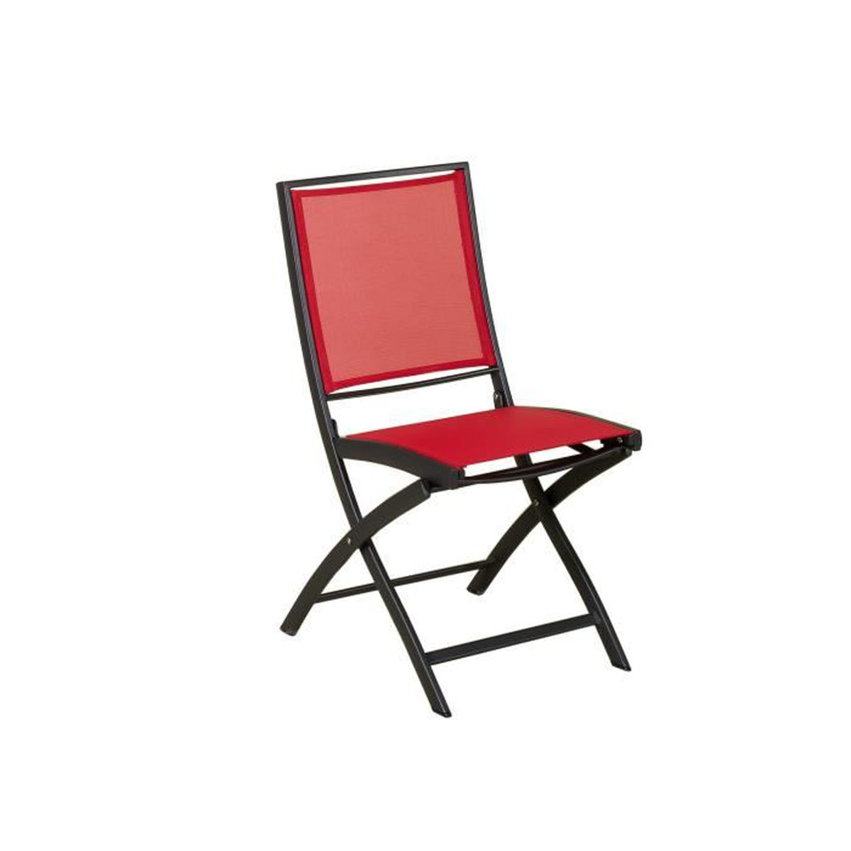 chaise salon de jardin toile