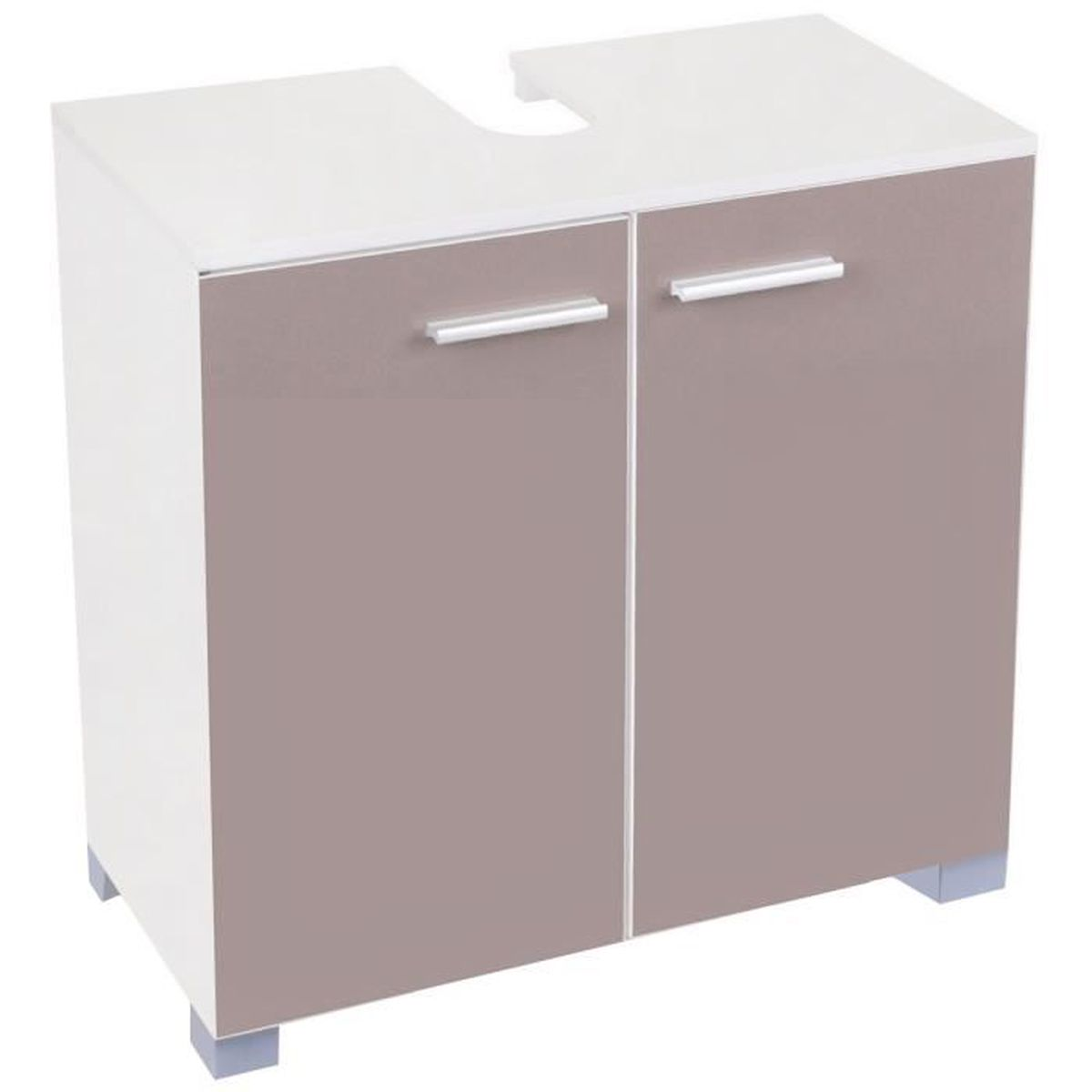 meuble de salle de bain sous vasque evier lavabo avec 2. Black Bedroom Furniture Sets. Home Design Ideas