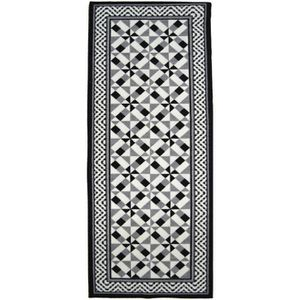 TAPIS UTOPIA Tapis de salon carreaux de ciment  80x150 c