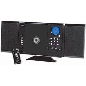 CHAINE HI-FI AEG MC 4421N Chaîne Radio / CD / MP3 / Carte SD -