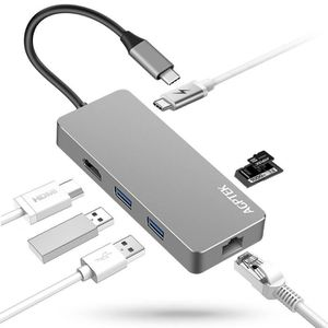 HUB Adaptateur Hub USB C Type C Port de Charge, Slot H