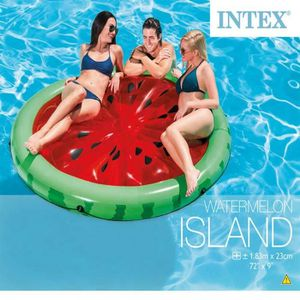 BOUÉE - BRASSARD Magnifique Intex Bouee gonflable Watermelon Island