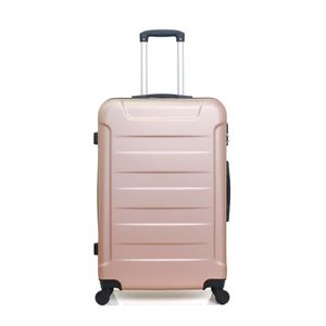 VALISE - BAGAGE VALISE GRAND FORMAT ELBE-A ROSE DORE