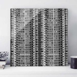 CADRE PHOTO 730 610 50x50 cm image verre - gratte-ciel, la sér