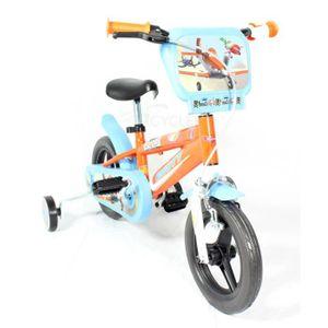 VÉLO ENFANT Vélo Enfant Disney Planes 10 pouces Orange 2-4 ans