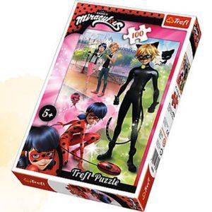 PUZZLE Puzzle Miraculous Ladybug 100 pièces Marinette et