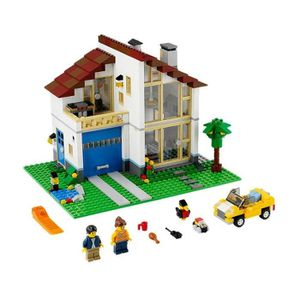 ASSEMBLAGE CONSTRUCTION LEGO CREATOR® 3-in-1 Family House Building Set - M