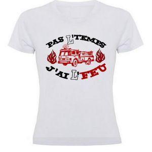 T-shirt-pompiers-nous sauver vie-Drôle Cadeau set pompier