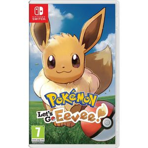 JEU NINTENDO SWITCH Pokémon: Let's Go, Eevee! (Nintendo Switch)