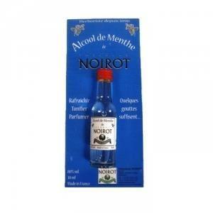 LIQUEUR NOIROT - Alcool de Menthe - 30 ml Rafraichit et...