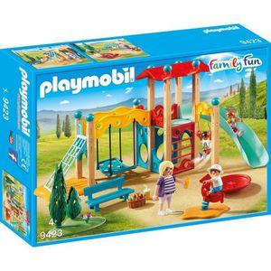 UNIVERS MINIATURE PLAYMOBIL 9423 - Family Fun - Parc de jeu avec tob
